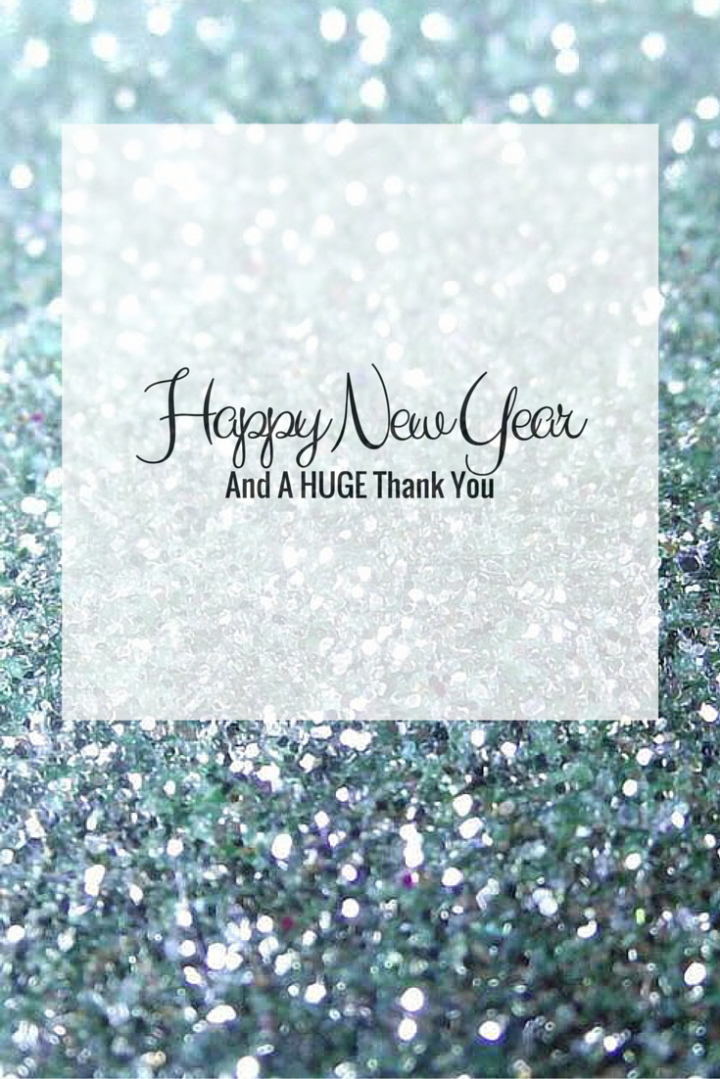 Happy New Year and a HUGE Thank You!