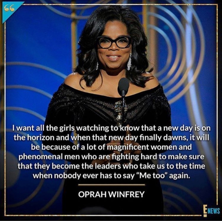 Golden Globes 2018: Oprah Winfrey's Inspirational Speech