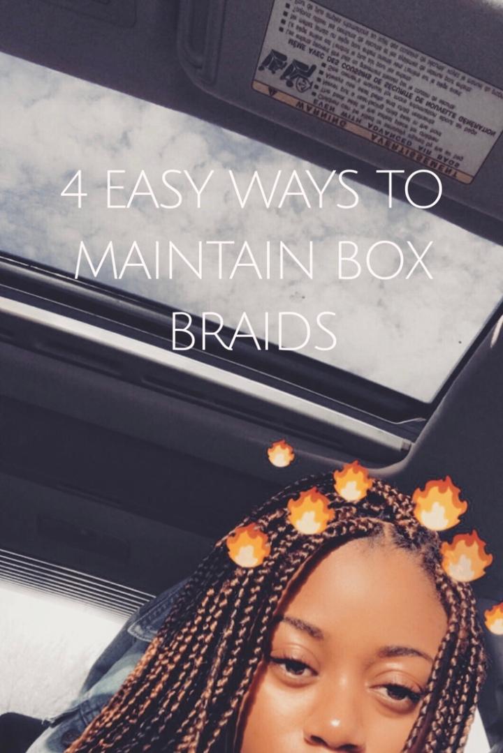 How to Maintain BoxBraids
